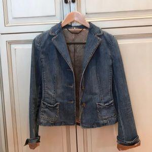 Elie Tahari Denim Jacket